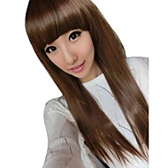 Women Fashion Straight Synthetic Full Bang Wigs
