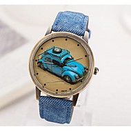 Women's Restoring Ancient Ways Old Car Dial PU Band Quartz Analog Wrist watch (Assorted Colors) Cool Watches Unique Watches Fashion Watch