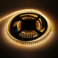 5M 96W 1200x3528SMD Warm White Light LED Strip Lamp (DC 12V)