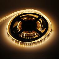 5M 96W 1200x3528SMD Warm White Light LED-Streifen-Lampe (DC 12V)