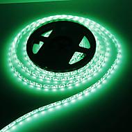 Waterproof 5M 60W 60x5050SMD 3000-3600LM  Green light LED Strip Light (DC12V)