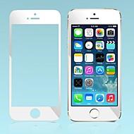 iPhone 5/5S/5C用のカラー鏡面プレミアムショックプルーフ強化ガラススクリーン保護フィルム