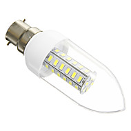 B22 / E26/E27 6 W 42 SMD 5730 420 LM Warm White / Cool White Candle Bulbs AC 220-240 V