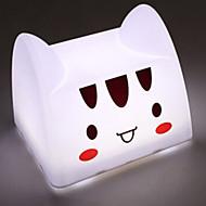 고양이 모양의 USB 부과 탭 스위치 LED 테이블 램프