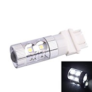 3157 / 3156 60W 12x LED SMD 650LM 6500K White Light LED for Car Steering Brake Light (DC12-24V)