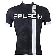 PaladinSport Men's Cycling Jersey Short Sleeves Sagittarius Spring and Summer Style 100% Polyester Short Sleeved Cycling Jersey