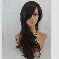 24inch Capless Long Alta Qualidade Sintética macio onda peruca de cabelo Mix 2/33