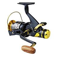 גלילי דיג סלילי טווייה 5.2:1 10 מיסבים כדוריים ימינים / ניתן להחלפה / איטר דיג בים / הטלת פיתיון / Spinning / דייג במים מתוקים