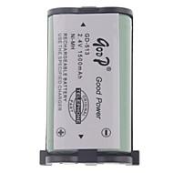 "2.4V ""1500mAh"" genopladeligt Trådløs telefon udskiftning batteri"