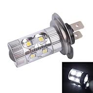 H7 60W 12x LED SMD 500LM 6500K White Light LED für Auto Nebelscheinwerfer Scheinwerfer (DC12-24V)