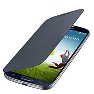 pu couro sólida caso de corpo inteiro para Samsung S4 mini-9190