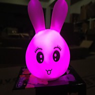 Coway Colorful Lovely Expression of Rabbit LED  Night Light