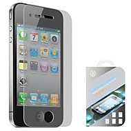 High Quality 0.4mm Gold Tempered Glass for iPhone 4/4S