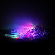 4m 20 leds julen halloween dekorative lys festlige lysstofrør-lille vandsøjle (220V)