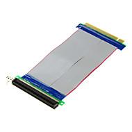 PCI-E 16x זכר ל16x כבלים מאריכים נשיים (20cm)