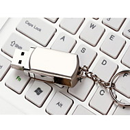 8GB Rotate Metal Material Mini USB Flash Pen Drive