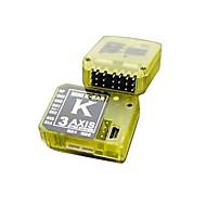 kbar k8 v2 5.3.4pro 3 axes système de stabilisation gyroscopique flybarless