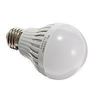 E27 5ワット12x5730smd 350-400lm 5000-6500kクールホワイト光はグローブ電球クリアーカバー(AC220V)を率いmlsled