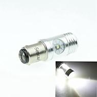 BAZ15d 1122 p21 Cree XP-E LED 20w 1300-1600lm 6500-7500k ac / DC12V-24 tAccendere luce bianca - argento trasparente