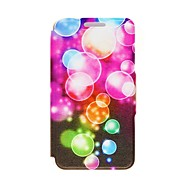 Kinston Color Bubble Pattern PU Leather Full Body Case with Stand for iPhone 4/4S