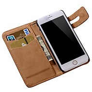 Soft Pattern PU Leather Wallet Cover for iPhone 6(Assorted colors)