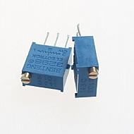 נגדים 3296 10kohm פוטנציומטר מתכוונן - הכחול (10 יח)