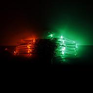 10M 100 LEDs Christmas Halloween decorative lights festive strip lights-RGB fiber optic lights (220V)