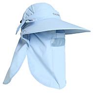 PGM Women's Nylon+Breathable Mesh Light Blue Sunproof Anti-UV Golf Sunhat