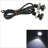 LED Tågelys/Dags Kørelys/Nummerpladelys Lampe ( Hvid , 6000K )