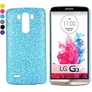 uusi saapui glitter pulverimaalattu pc kova takaisin tapauksessa LG G3 D850 ls990 (eri värejä)