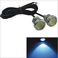 LED Tågelys/Dags Kørelys/Nummerpladelys Lampe ( Blå