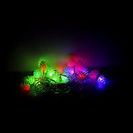 4m 20 leds julen halloween dekorative lys festlige lysstofrør-echinacea (220V)