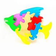 diy fisk puslespil pædagogisk legetøj til børn