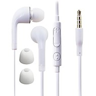 DF White Blue Plate 3.5mm In-ear Earphone with Line Control for Samsung S4/S5 All Andriod Phones