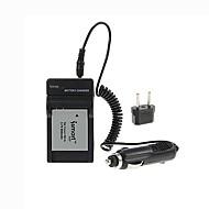 ismartdigi-can NB-4L (800mAh, 3.7v) batterie de l'appareil + bouchon + ue chargeur de voiture pour Canon Ixus 110 115 120 117 220 230 130is