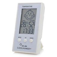 """modello volto 2.3 """"intelligente igrometro termometro elettronico a cristalli liquidi per la stanza del bambino"""