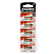 camelion 12V A27 البطارية القلوية ميركو (محفظة 5pcs)