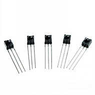 DIY 3-Pin Infrared IR Receiver - Black (5PCS)