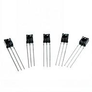 DIY 3-pin infrapuna IR-vastaanotin - musta (5kpl)