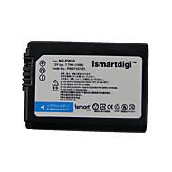 iSMART bateria da câmera para Sony NEX-3, nex-3c, nex-5, nex-5a, nex-5c