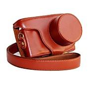 dengpin® Leder abnehmbare Schutz Kamera Tasche für Samsung NX Mini NXF1 mit 9-27mm Linse