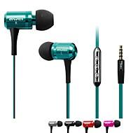 awei es-130i 3.5mm douszne słuchawki z mikrofonem 3 akcesoria do telefonów Samsung (różne kolory)