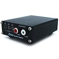 korkealaatuinen kuitu koaksiaaliset koodauksen digitaaliaudiolähtöä signaalin analogiseksi signaaliksi DAC TV dekooderi ääni