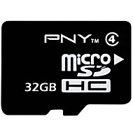 PNY 32GB Clase 4 MicroSD/MicroSDHC/MicroSDXC/TFMax Read Speed14MB/S (MB/S)Max Write Speed4MB/S (MB/S)