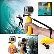 GoPro Yellow Floating Handle Grip With Screw For Gopro Hero 1/2/3