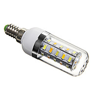 E14 / G9 / GU10 5 W 36 SMD 5730 350 LM Natural White T Corn Bulbs AC 220-240 V