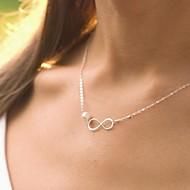 Dame Perlehalskæde Smykker Enlig Snor Perle kostume smykker Smykker Til