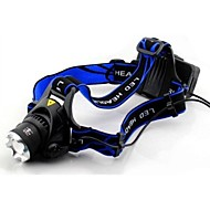 CREE XM-L T6 LED Bike Light Headlamp 1600 Lumens Zoomable Tactical Headlight with US/EU/UK AC Charger