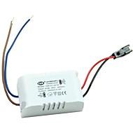 AC 85-265V aan (1-3) X1W externe led driver voor het gebruik van de lamp met case