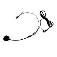 ouvidos newonline pendurados microfone preto